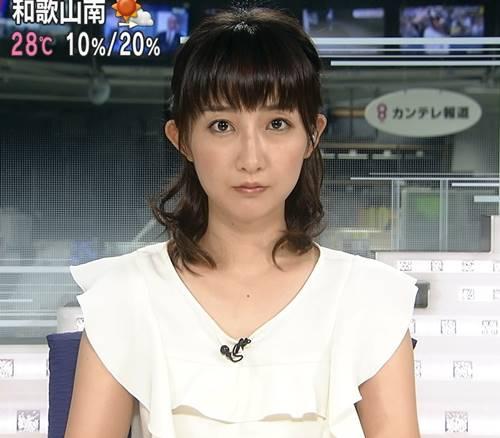 竹上萌奈アナがにじいろジーンでかわいい!水着をミスネイチャーで!