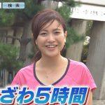 深谷杏子アナがかわいい!慶應卒業でカップや高校と年齢は?