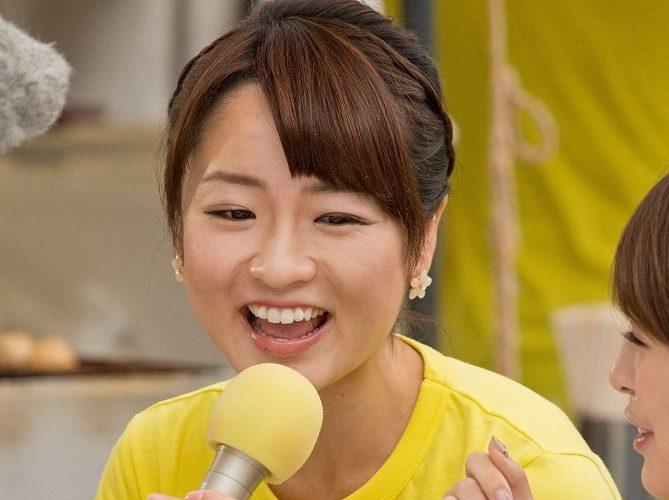 小山悠里アナは早稲田でかわいい!カップやタイツと高校は?