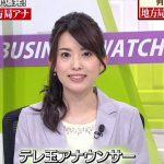 テレ玉早川茉希アナがかわいい!結婚や高校とカップは?