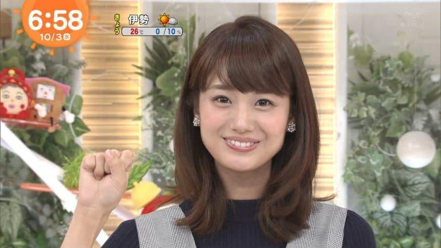 井上清華はカップが凄い!めざましテレビ出演のフジテレビ新人アナでかわいい!