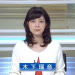 木下瑠音アナがNHKBSニュースでかわいい!現在はフリーでAbemaにも!